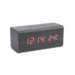 Zegar na biurko z ładowarką indukcyjną CORNELL