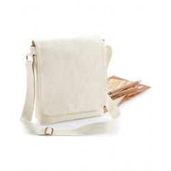 Bawełniana torba midi messenger FairTrade