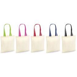 Torba z kolorowymi uchwytami - Bag for Life