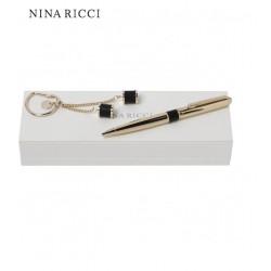 Zestaw Nina Ricci: długopis + brelok