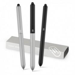 Aluminiowy długopis z końcówką dotykową