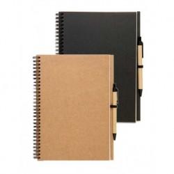 Notes z surowców wtórnych z długopisem