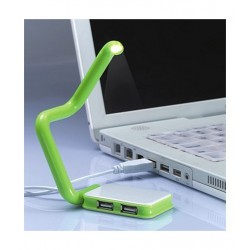 Rozgałęziacz USB z lampką