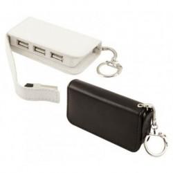 Rozgałęziacz USB w skórze