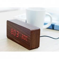 Zegar ledowy z MDF