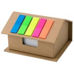 Zestaw do notatek w kształcie domu