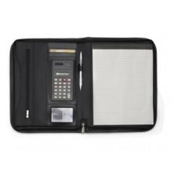 Teczka konferencyjna A4, notatnik, kalkulator