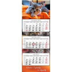 Kalendarz trójdzielny LUX